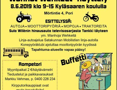 Rompetori ja Wanhat Vehkeet -näyttely 8.6.