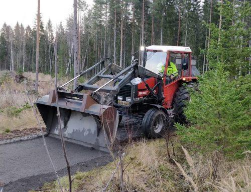 Pururadan ja Kylämetsän polun parannustyöt